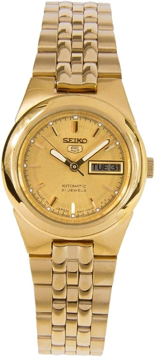 Amazon Com Seiko 5 Automatic Watch Symg58j1 Ladies Watches