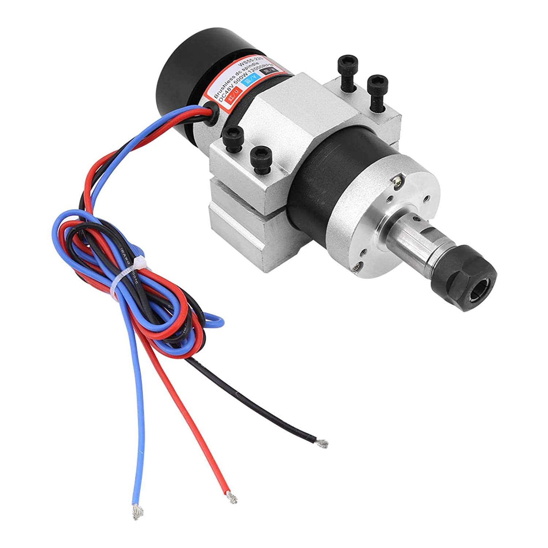 Máquina de grabado con motor de husillo, motor de husillo, motor sin escobillas, motor Dirver, juego de 0,5 kW para máquina de grabado