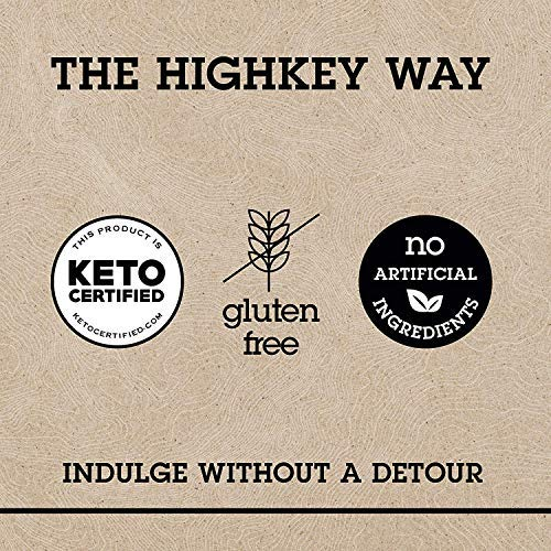 HighKey Snacks Keto Instant Hot Cereal Breakfast - Gluten & Grain Free - Perfect Ketogenic Friendly Food - Low Carb, High Protein - Good for Desserts, Atkins & Diabetic Diets (Cocoa Almond)