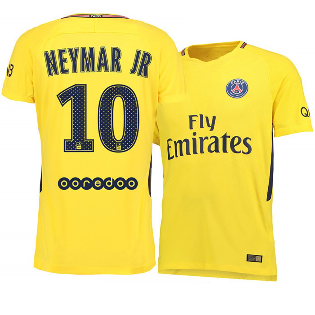mechs sports Paris Saint-Germain 17-18 Camiseta de fútbol ausente - Neymar Jr 10: Amazon.es: Deportes y aire libre