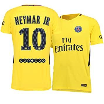 mechs sports Paris Saint-Germain 17-18 Camiseta de fútbol ausente (Neymar Jr 10) - Niños: Amazon.es: Deportes y aire libre