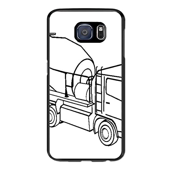 Truck Edge Mobile >> Amazon Com Conctete Truck Protective Sleeve For Samsung