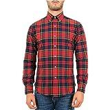 Polo Ralph Lauren Camicia Oxford scozzese Slim-Fit Uomo Mod. 710723608