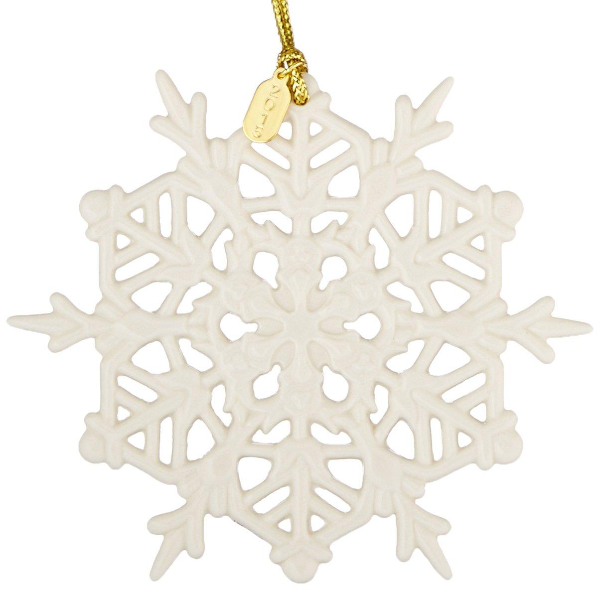 Lenox 2015 Snow Fantasies Snowflake Ornament