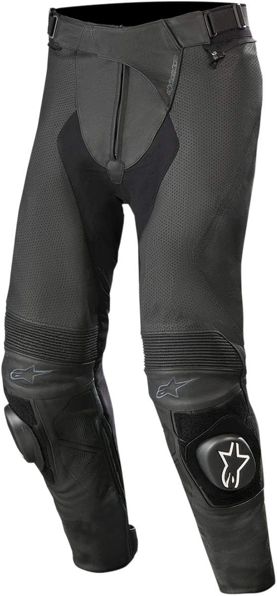 44 Alpinestars Mens Missile v2 Airflow Motorcycle Riding Pant Black Long