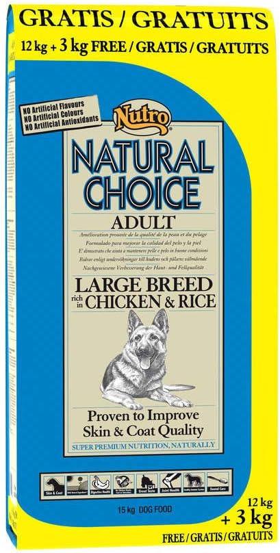 NUTRO - Pienso para Perros Adultos Grandes Natural Choice Adult ...