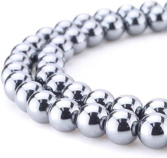 MagiDeal 100pcs Perles en Vrac Tube en Acier Inox Bijoux Argent pour Collier Bracelet