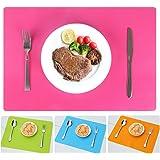 Molie 30*40cm Silicone Place Mats Heat Resistant Pads Non Slip Table Mats