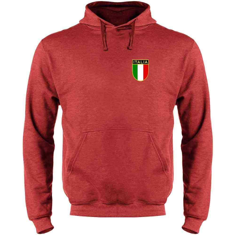 Italy Soccer Retro National Team Mens Fleece Hoodie Sweatshirt