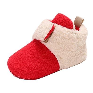 Âge Fille Chaussures Bas Garçons Unisexe En Hiver Bébé Allskid Chaud Lj354ARq