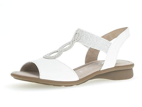 Gabor 26.065 Femme,Sandale à lanières,Chaussures d'été