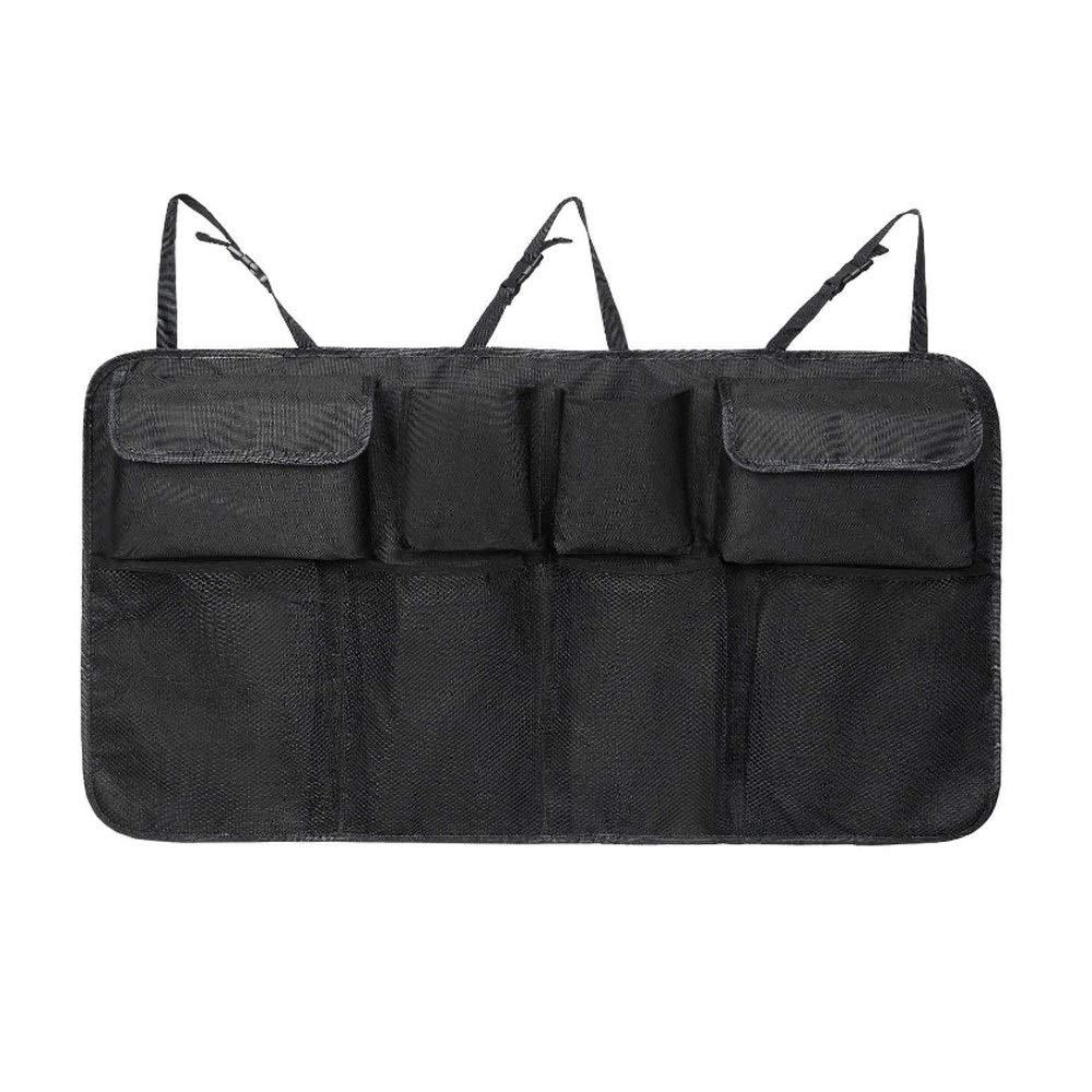 Weastion Pack de rangement pour siège arrière pour voiture Sac de rangement pour coffre arrière Sac de coffre utile Sac suspendu Paquet de rangement pour voiture Paquet de rangement pour voiture Multi