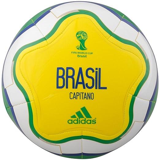 589b611e4 Amazon.com : adidas Brazil Soccer Ball : Clothing