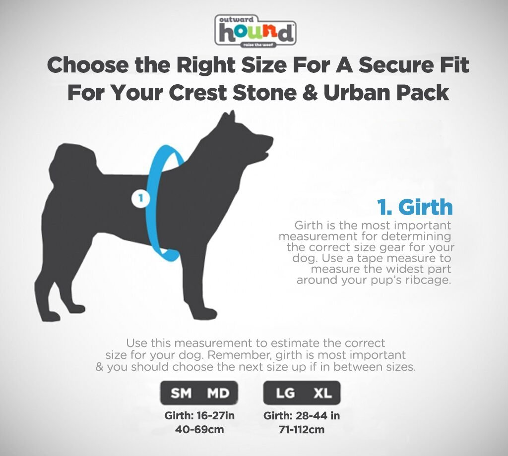 Denver Urban Pack Lightweight Urban Hiking Backpack for Dogs by Outward Hound, Large/X-Large by Outward Hound (Image #2)