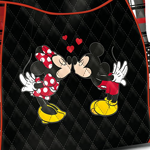 Tote Dual Disney Bag 'love Art Mickey From Minnie Bradford Exclusively And Charm Handles A With Crafted Matching amp; Story' Exchange Licensed The Officially Eq4aza8