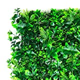 BE EVERGREEN FOLLAJE Sintetico, FOLLAJE Artificial, Muro Verde, Modelo Madrid 1 M2