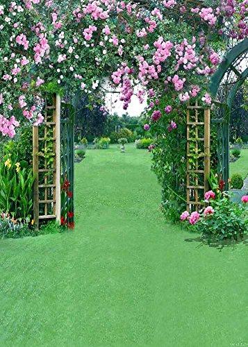 GladsBuy Flowery Door 5