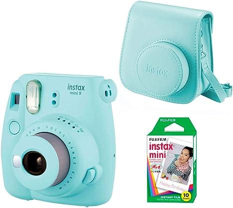 Fujifilm Instax Mini 9 - Kit de Cámara Fotográfica con Funda y ...