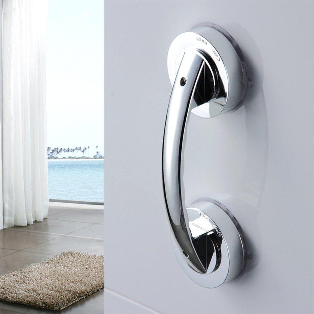 NNNKO Poignée de porte à ventouse Super Power, HomeYoo Soutien Grip de sécurité Grip douche Extracteur Poignée d'aide pour la salle de bains, douche, Cabinet, Mini réfrigérateur
