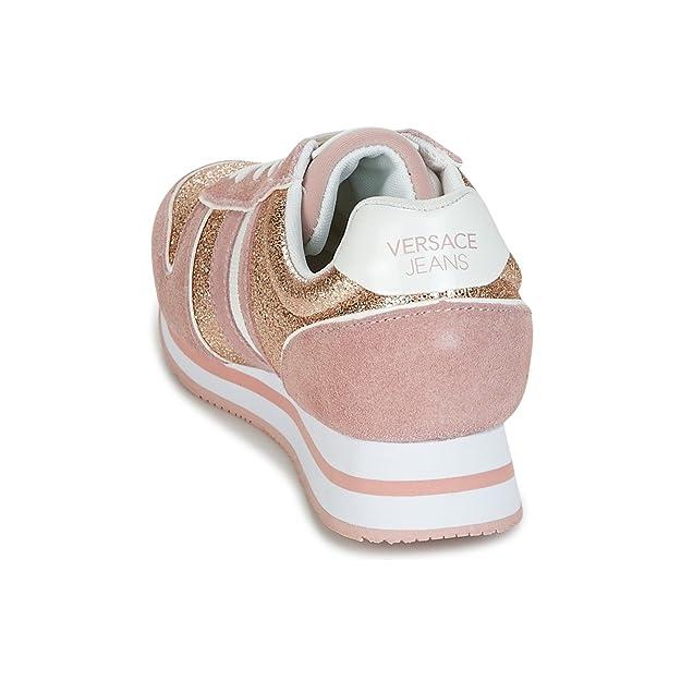 Versace Jeans Linea Fondo Stella Dis1 Suede Coated Shiny Textile  E0VRBSA170027521, Basket  Amazon.fr  Chaussures et Sacs cc84003ef3d
