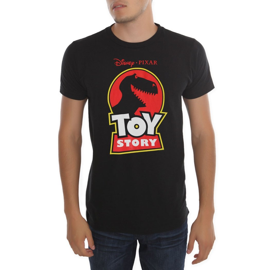 Toy Story Rex Logo T-Shirt-Large