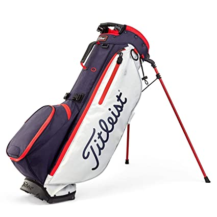 Amazon.com: Titleist Golf- Players 4 Plus Stand Bag: Sports ...