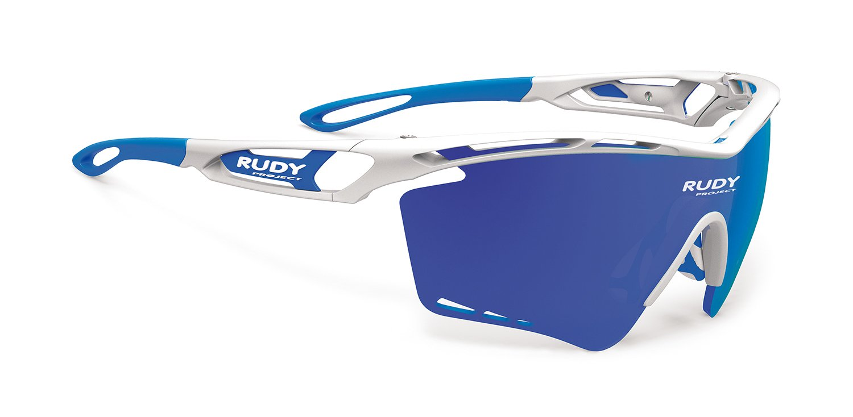 RUDY PROJECT(ルディプロジェクト) トラリクスXL ホワイト/マルチレーザーブルー 0139SP393969Z   B01JIN9CYO