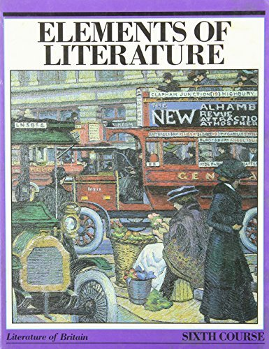 Elements Of Literature By Robert Anderson 1986 06 03