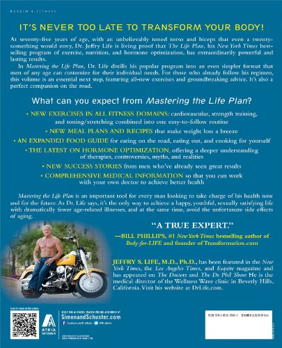 61lFu%2BHzeFL - Mastering the Life Plan: The Essential Steps to Achieving Great Health and a Leaner, Stronger, and Sexier Body