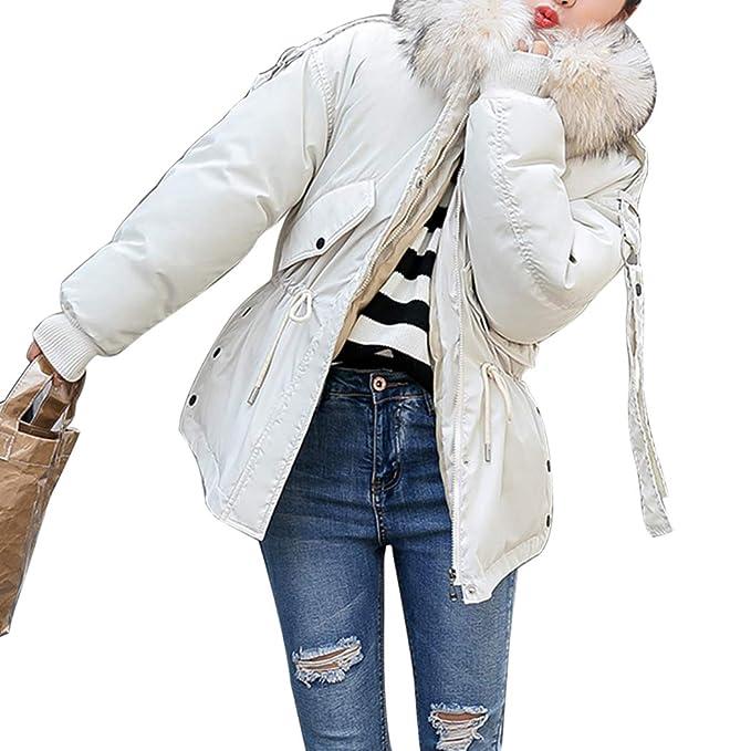 Blanco Larga Manga Para Chaqueta Guateada Mujer Mioim Abrigo yfFIgqq0