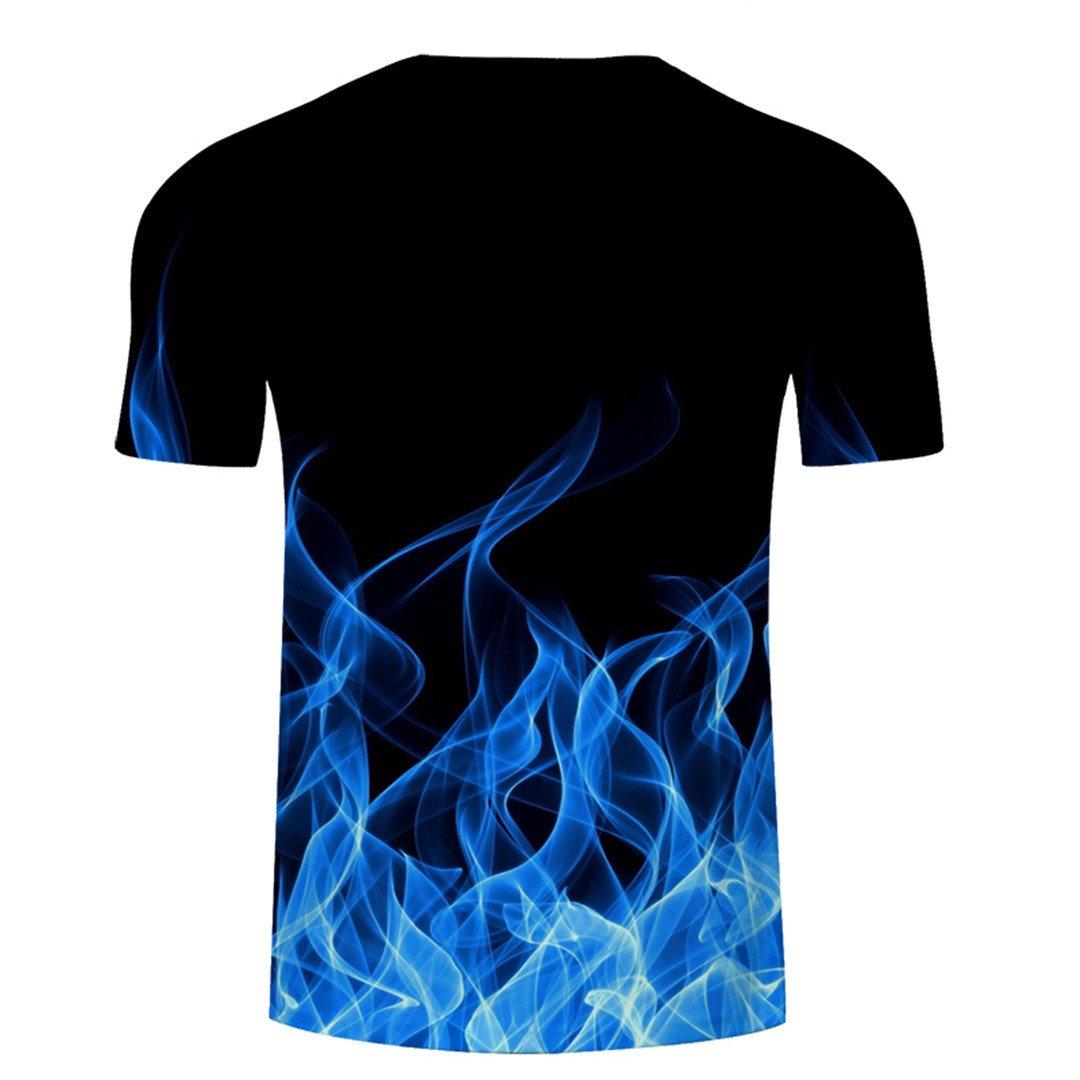 Snake 3D Tshirt Men T Shirt Summer Tee Top Short Sleeve O-Neck 6XL Streatwear TXKH753 Asian S