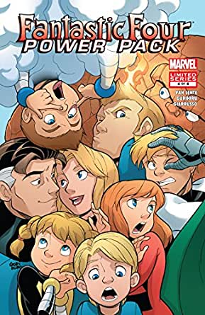 Fantastic Four and Power Pack (2007) #4 (of 4) (English Edition ...