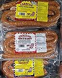 #2: Conecuh Sausage 10 Pounds - Mix of Original, Hot & Spicy, Cajun Smoked Sausage