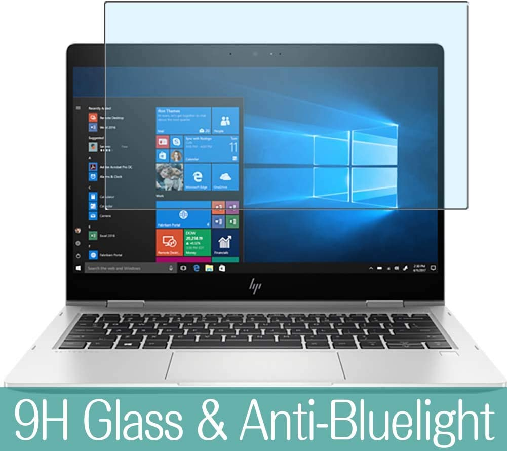 """Synvy Anti Blue Light Tempered Glass Screen Protector for HP EliteBook x360 830 G6 13.3"""" Visible Area 9H Protective Screen Film Protectors"""