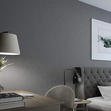 Schwarz Weiss Grau Reine Pigmentfarbe Langfaser Vliestapete Wohnzimmer Schlafzimmer Tapete Bleifarbe Amazon De Baumarkt