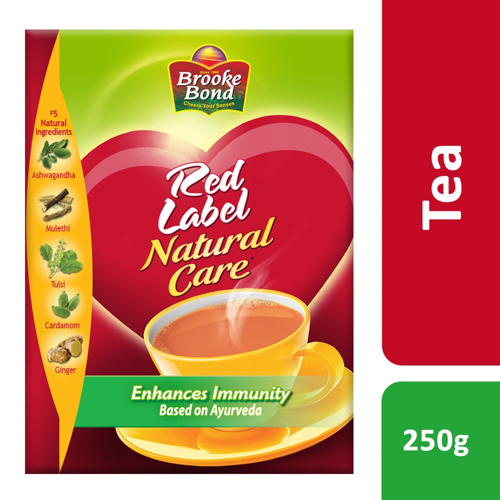 Brooke Bond Red Label Natural Care Tea 250g Cloudtail India Chilschool Vanila 800 Gr 2 Box