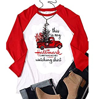 231311151 This is My Hallmark Christmas Movie Watching Shirt Unisex T-Shirt 3/4 Sleeve
