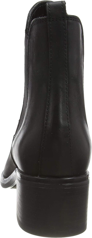 Tamaris 1-1-25040-23, Bottes Chelsea Femme Noir Black Nubuc 008