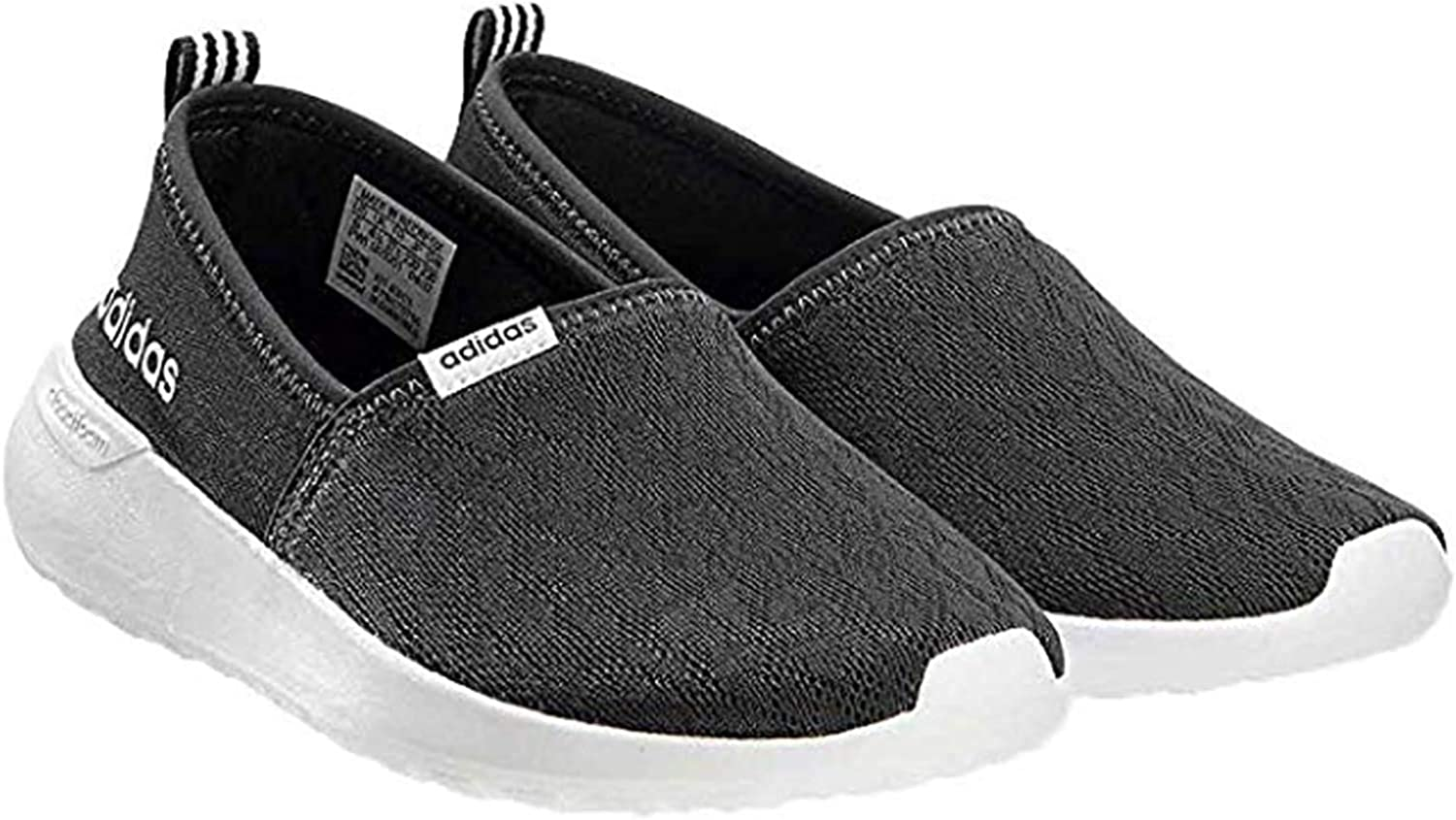 Un evento salto Quemar  Amazon.com: adidas Women's Cloudfoam Lite Racer Slip On: Shoes