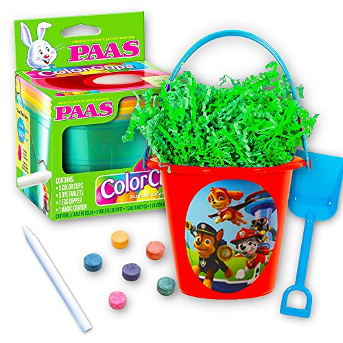 Paw Patrol Easter Basket for Kids Toddlers Set -- Bucket, Gr
