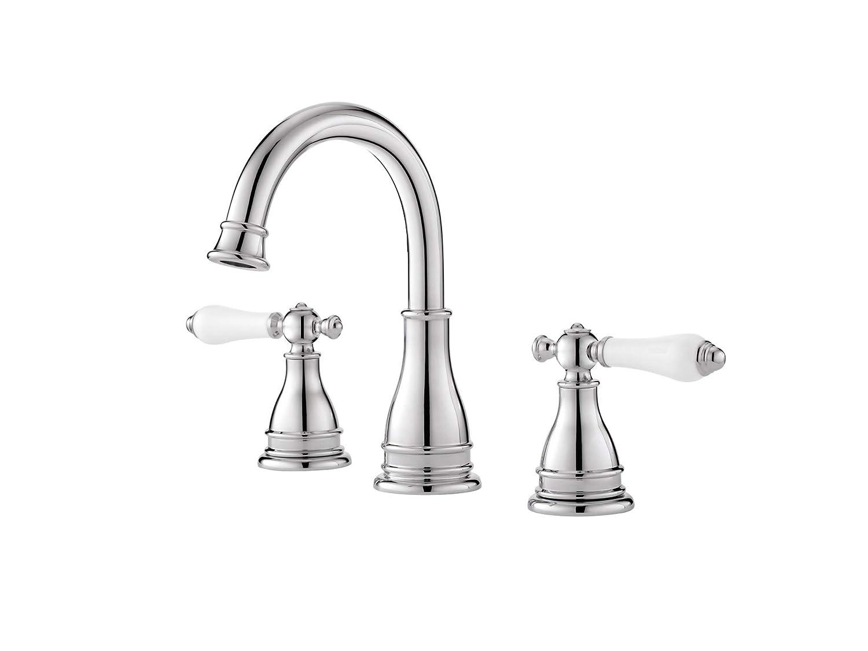 Pfister Lf Wl8 Snpc Sonterra 2 Handle 8 Widespread Bathroom Faucet