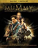 The Mummy Ultimate Collection (The Mummy (1999) / The Mummy Returns / The Mummy: Tomb of the Dragon Emperor / The Scorpion King) (Blu-ray + Digital HD)