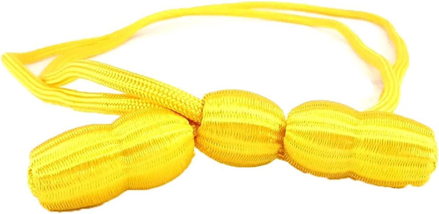 M /& F Western Mens Acorn Cavalry Hat Band Yellow One Size