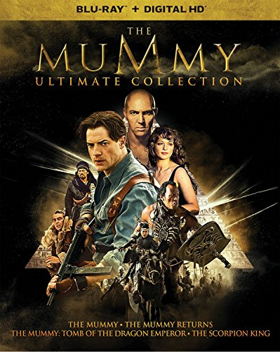 Blu-ray : The Mummy Ultimate Collection (Boxed Set, Snap Case, Slipsleeve Packaging, Digitally Mastered in HD, 5PC)