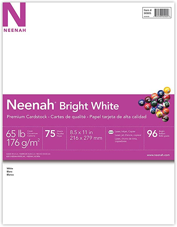 Neenah Bright White Cardstock