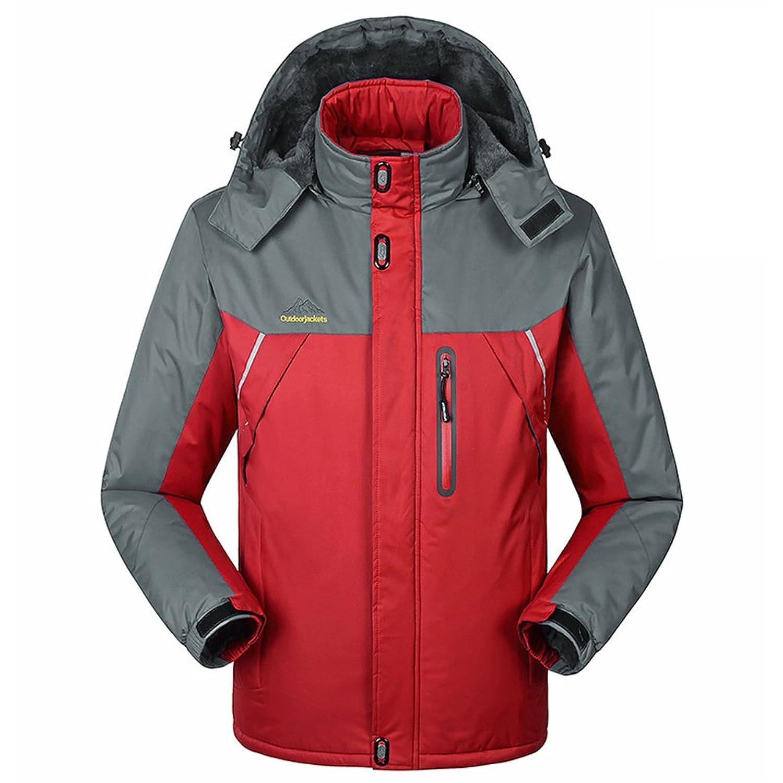 Amazon.com: Mountain Conqueror Outdoor Wear Winter Jacket For Men ...