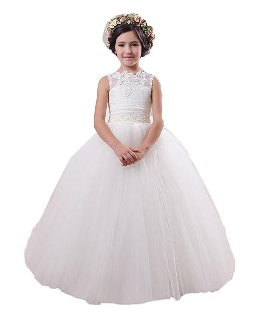 VIPbridal La primera comunión santa pura lujosa de los vestidos de las señoras viste el vestido