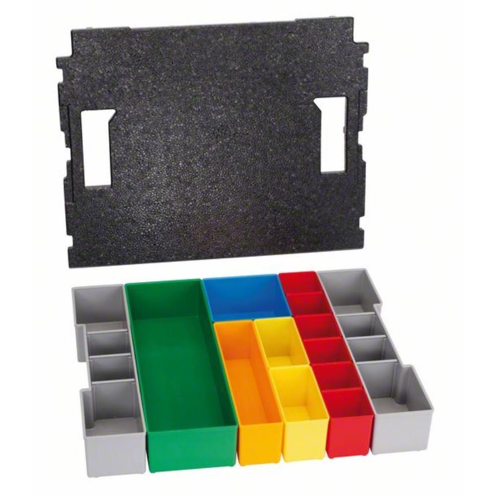 Bosch Professional BO 102 13 Professional L-BOXX Inset Box Set, Multi 1600A001RY