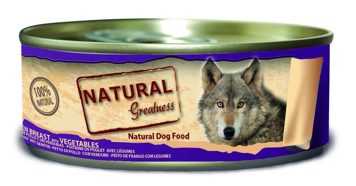 Natural Greatness Comida Húmeda para Perros de Pechuga de Pollo ...