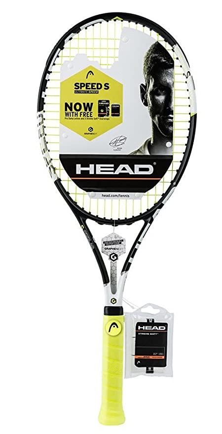 Amazon.com : HEAD Graphene XT Speed S Tennis Racquet Battle Pack 4 1/4 : Sports & Outdoors